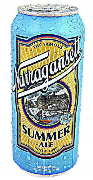 gansetts summer ale, above, is now summertime citra ale