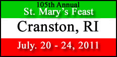 Image result for st mary's feast cranston ri