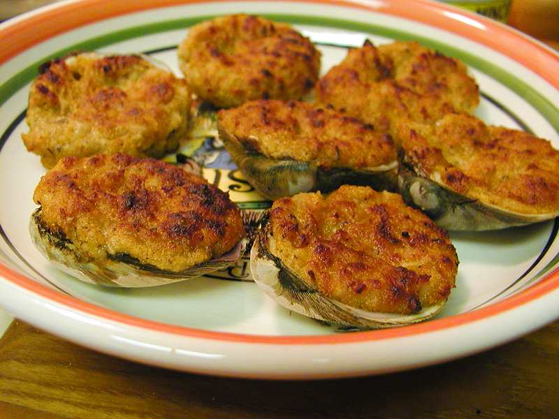 baked stuffed clams recipe martha stewart 454 cwn baked clams