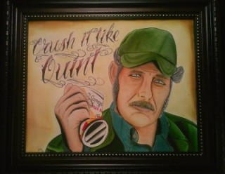 Quint Painting by Josh