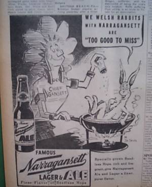 Another great Chief Gansett ad